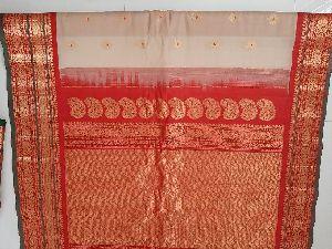 Handloom Pure Gadwal Sico Sarees