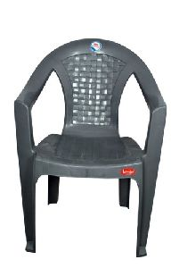 Grey Plastic Tent Chair