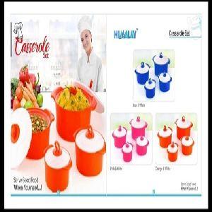 Plastic Casserole Set