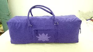 Purple Yoga Accessories Bag