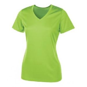 Ladies V Neck T-Shirt