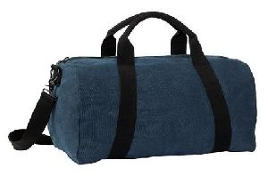 Navy Blue Gym Duffle Bag