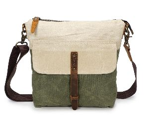 Vintage Canvas Shoulder Sling Ladies Tote Bag