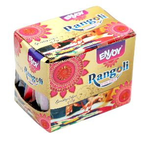 Colorful Tota Brand Rangoli