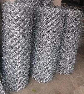 Galvanized Chain Link Mesh Fence