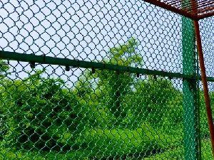 GI PVC Coated Chain Link Mesh Fence