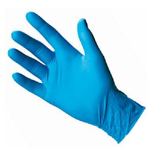 Blue Sterile Gloves