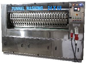 Automatic Tunnel Type Bottle Washing Machine